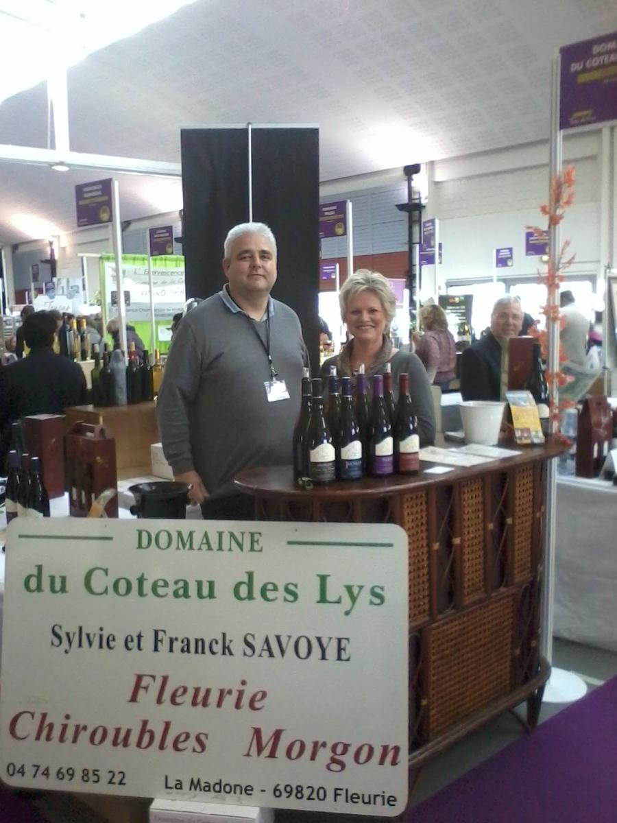 Domaine du coteau des lys for Salon mer et vigne strasbourg 2017