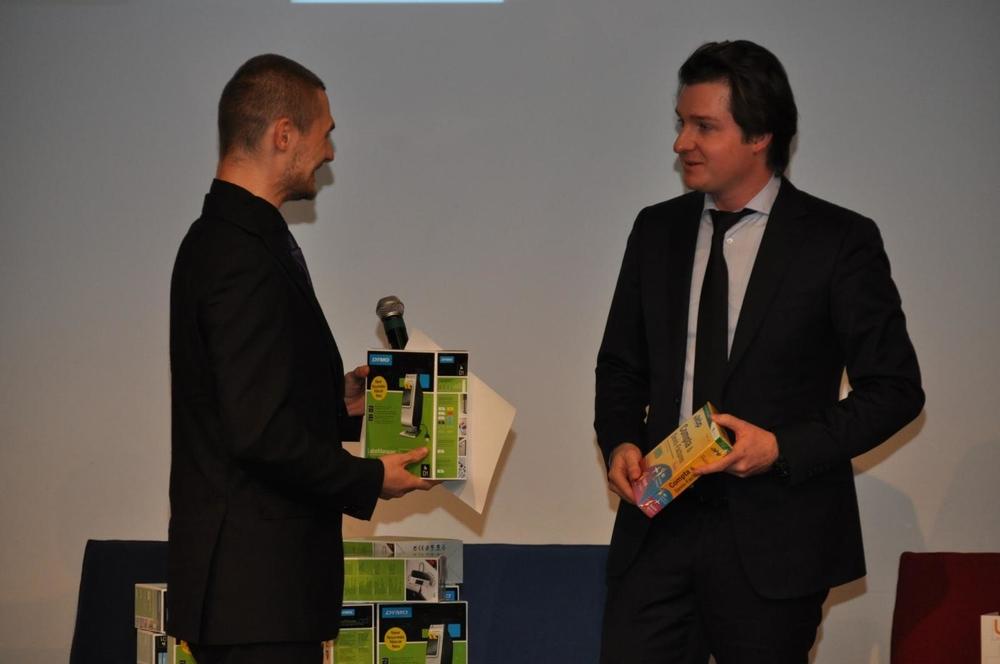Prix étudiant - Remise des cadeaux