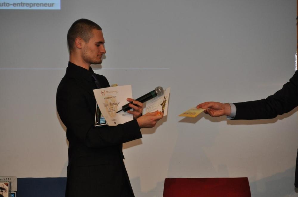 Prix étudiant - Remerciements