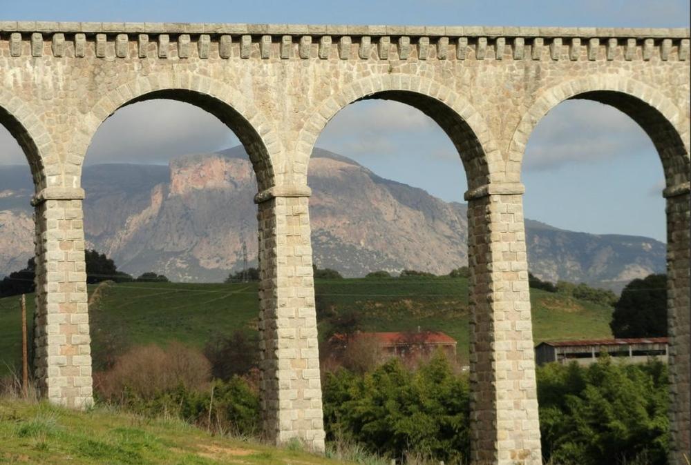 Aqueduc, Mezzavia, Ajaccio, Corse