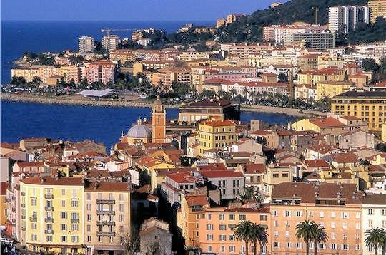Ajaccio, vieille ville, paysage