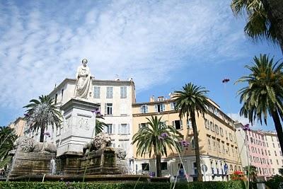 Place Foch, Palce des Palmiers, Ajaccio