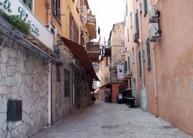 ruelle Ajaccio, vieille ville