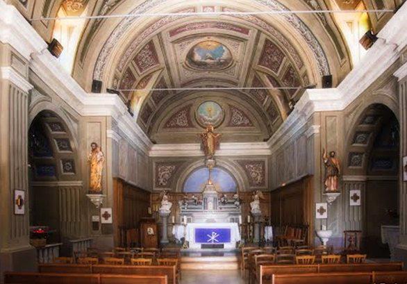 intérieur église, afa, corse