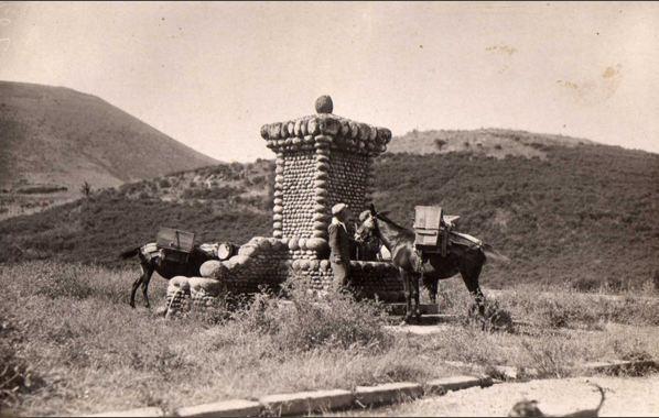 fontaine mezzavia, ancienne