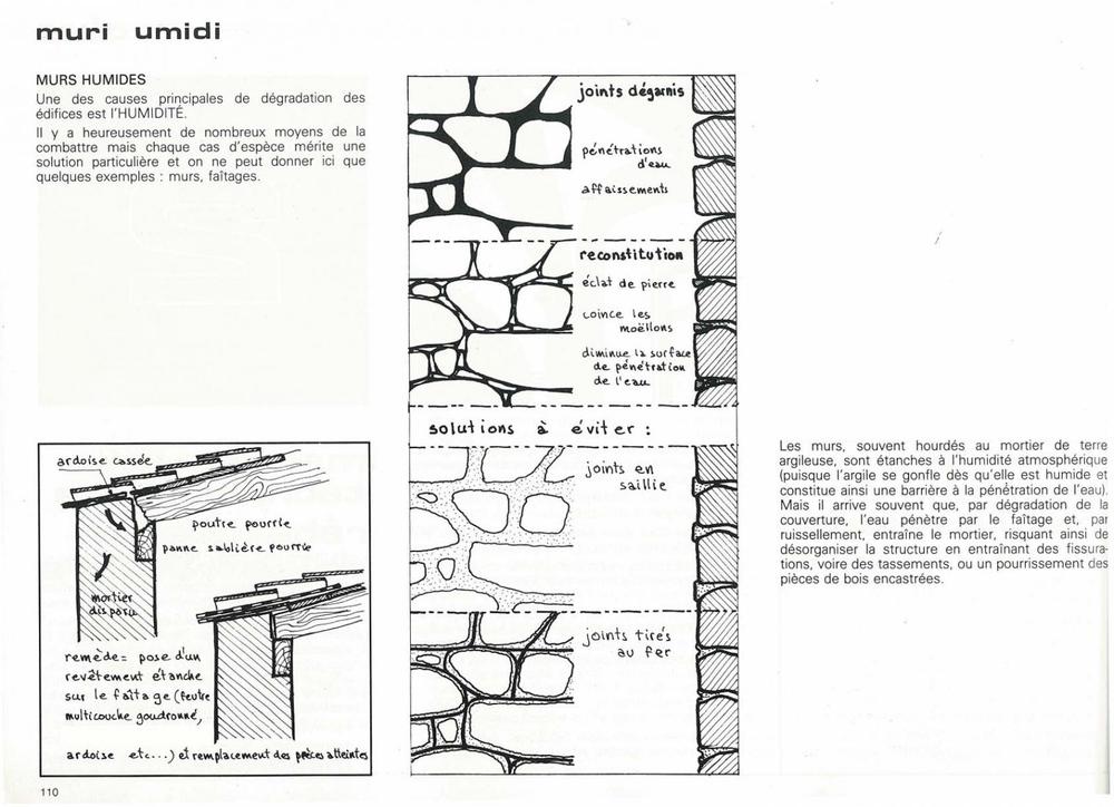mur pierre, rénover, joints, maison corse, casalonga