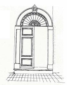 porte, portail, ajaccio, corse