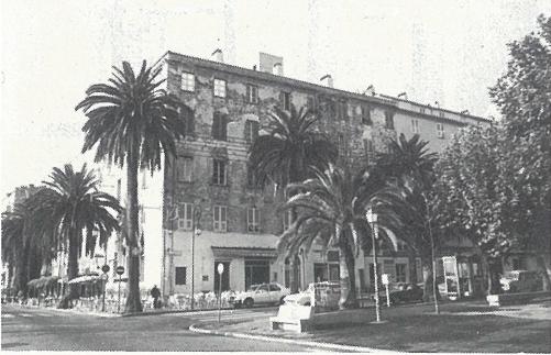 immeuble collectif ancien, ajaccio, corse, rénovation, port
