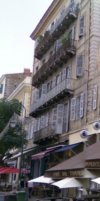 balcons corbeaux, cours napoleon