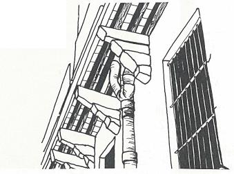 modénature, balcon, corbeau, ajaccio