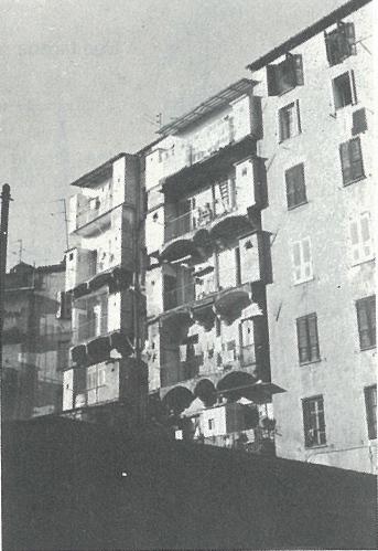 façades arrières du cours napoleon