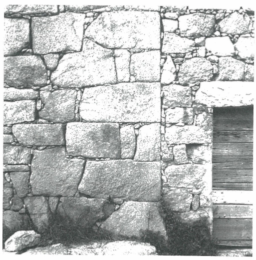 coup de sabre, mur pierre, corse