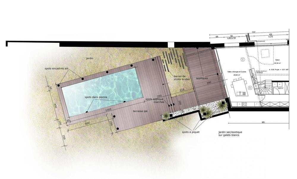 Aménagement d'une terrasse/piscine pour une résidence principale (Marsilly 17) 2013