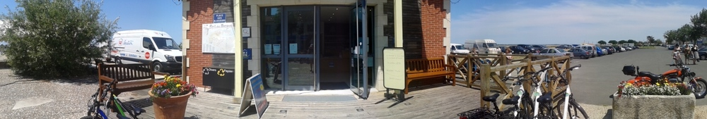 Réaménagement de l'accueil de l'Office de Tourisme de Port-des-Barques - mandataire, cotraitance avec Optim'A - (Port-des-Barques 17) 2015