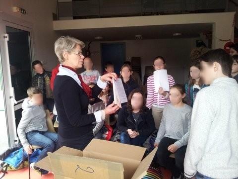 Intervention scolaire Salon de Binic