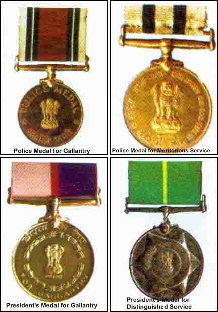 Medals & Honours