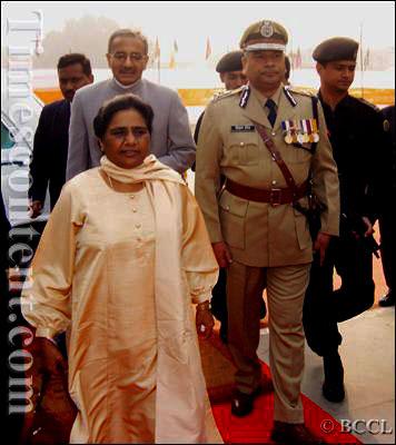 With Hon'ble Ex.CM Ms.Mayawati Ji