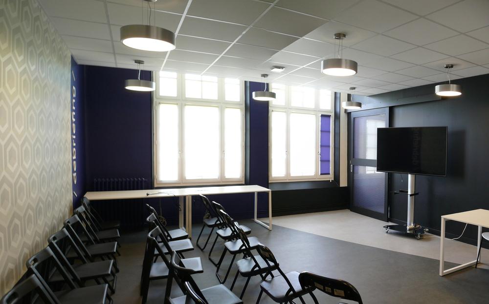 Création d'un espace Coworking pour la CARO  - en cotraitance avec Optim'A - (Rochefort 17) 2015