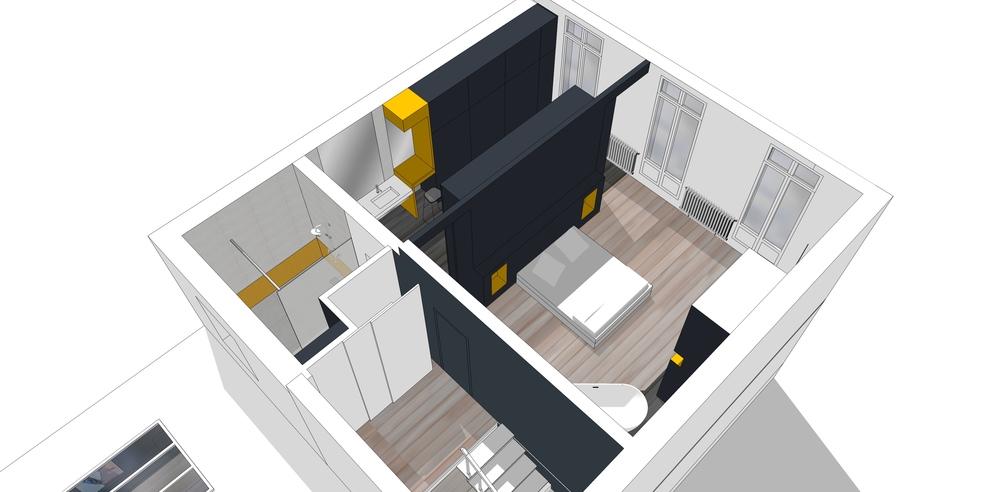 Conseils en aménagements/finitions pour une résidence principale en cours de restructuration - Rochefort (17) 2016