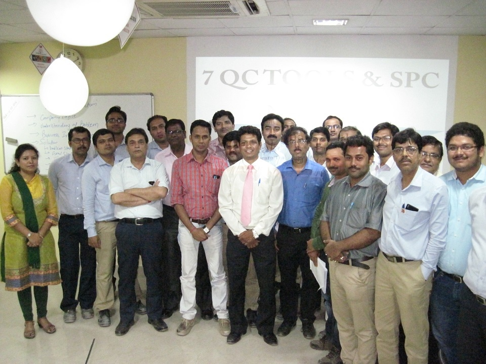 7 QC Tools and SPC Training at Aditya Birla Insulators, Hoogly W.B.