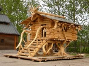 Cabane fuste for Fabricant de cabane en bois