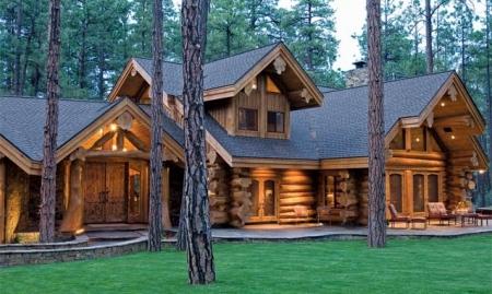 chalet en fuste chalet en rondin chalet en bois maison en rondin