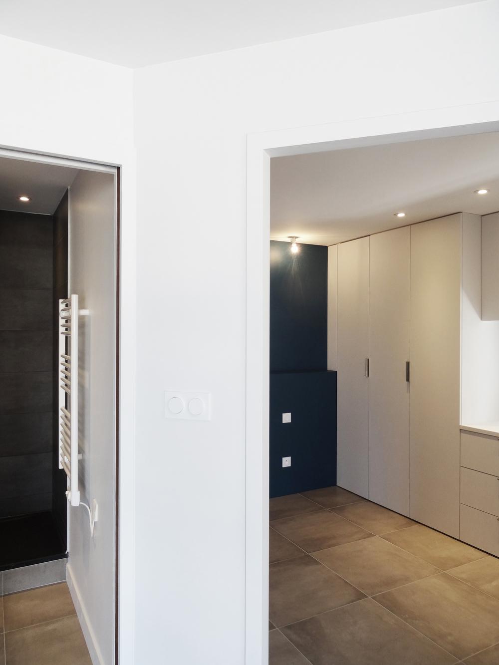 Restructuration d'un appartement en résidence secondaire - La Rochelle (17) 2016