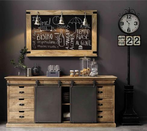 style industriel meubles et objets de d coration. Black Bedroom Furniture Sets. Home Design Ideas