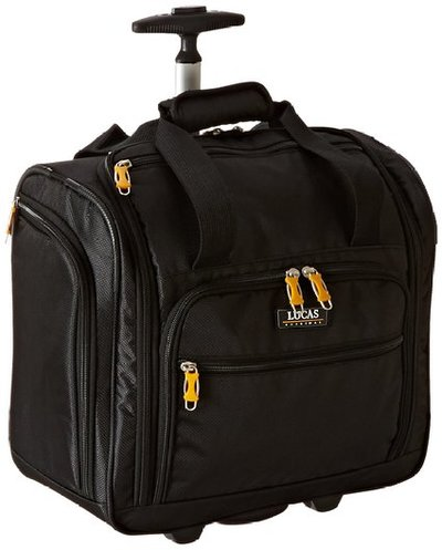 Lucas Wheeled Under The Seat Cabin Bag Exclusive Black
