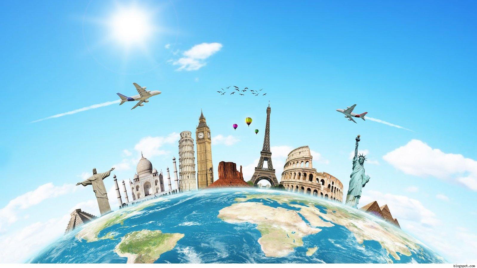 Travelling around the world