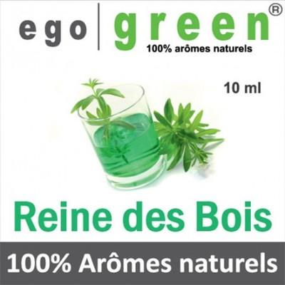 Reine des bois egogreen e liquide aux extraits d aromes naturels 10 ml