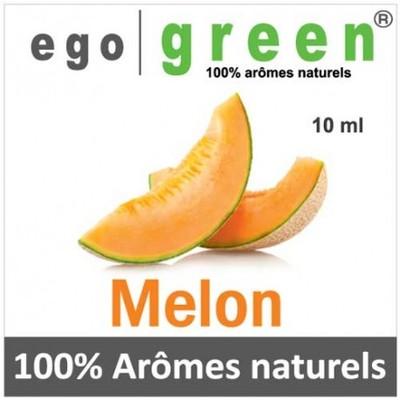 Melon egogreen e liquide aux extraits d aromes naturels 10 ml