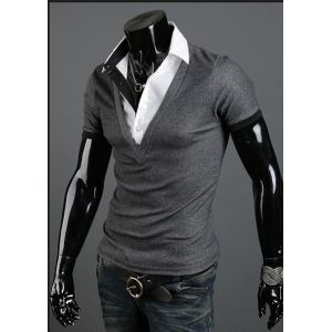O hot men s fashion mens short sleeves t shirts shirts 0c48