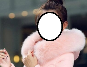 O women s big fur collar thick long down jacket s xl 3012 1fe8