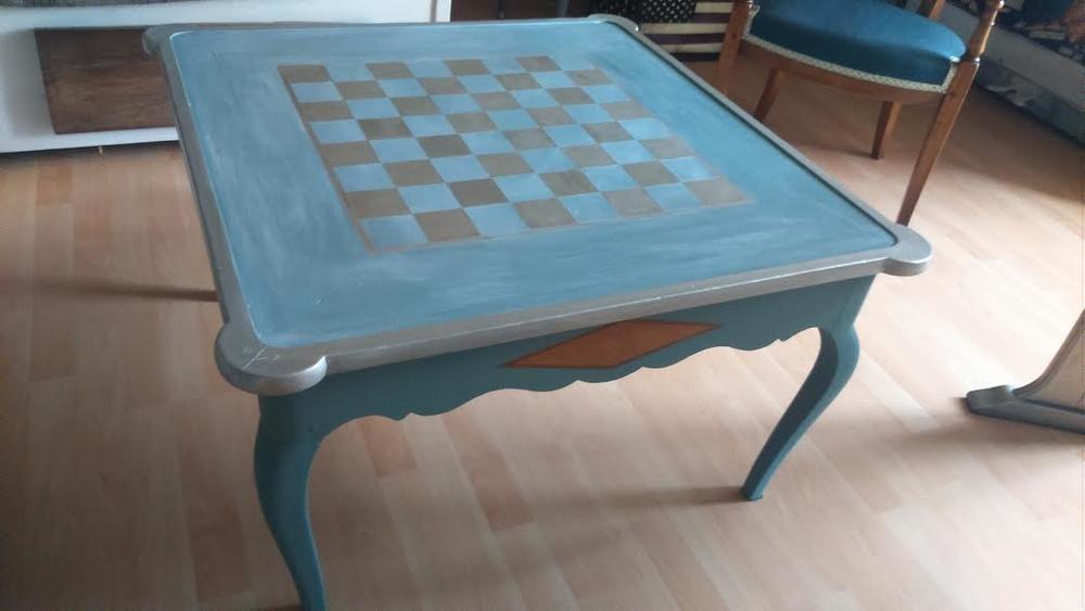 table basse echiquier. Black Bedroom Furniture Sets. Home Design Ideas