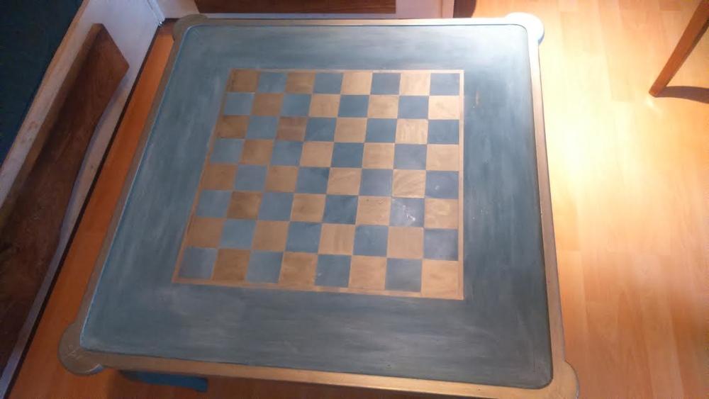 table-basse-echiquier