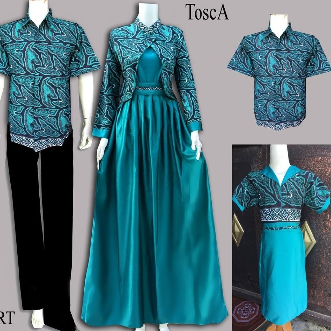 10-Model-Baju-Batik-Couple-Gamis-Elegan-Terbaru-5