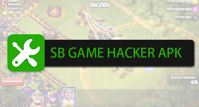 SB Game Hacker Download on PC, iOS, Android APK