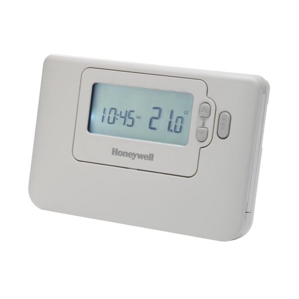 honeywell round digital thermostat instructions