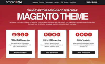 Designs2html psd to magento