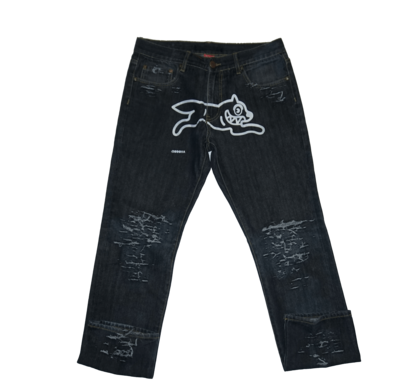 Running fox disstresed denim min