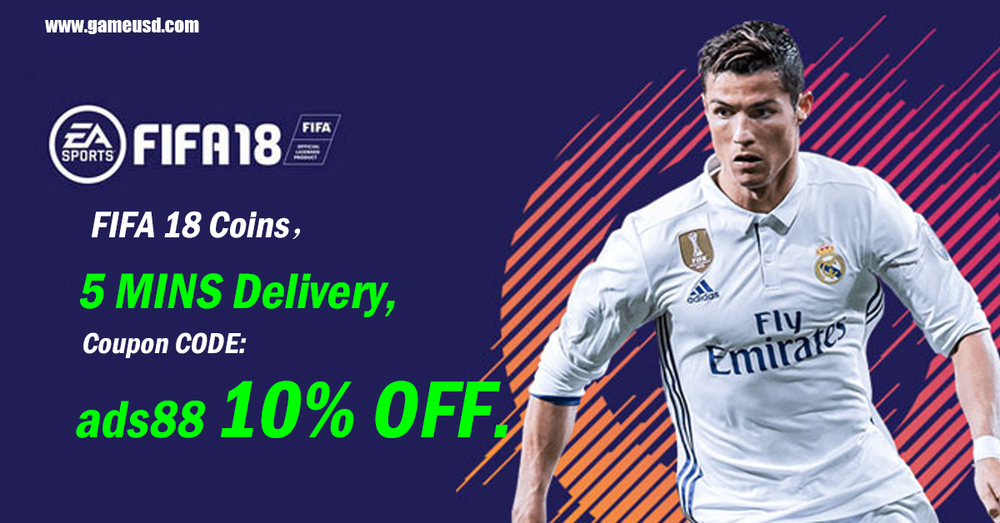 Welcome To Gameusdcom To Buy Cheap Fifa 18 Coins