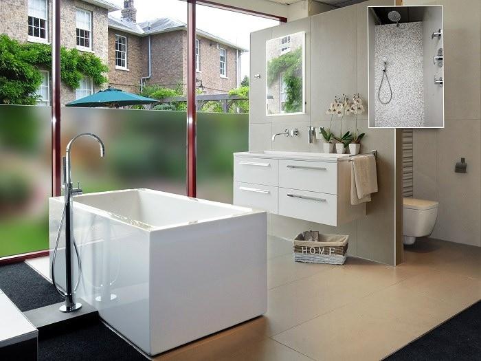 Landelijk Badkamer Tegels : Badkamer tegels en landelijke keukens creëren sfeer