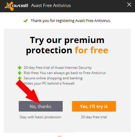 Register Avast Free Antivirus 2017 For 1 Year Free License