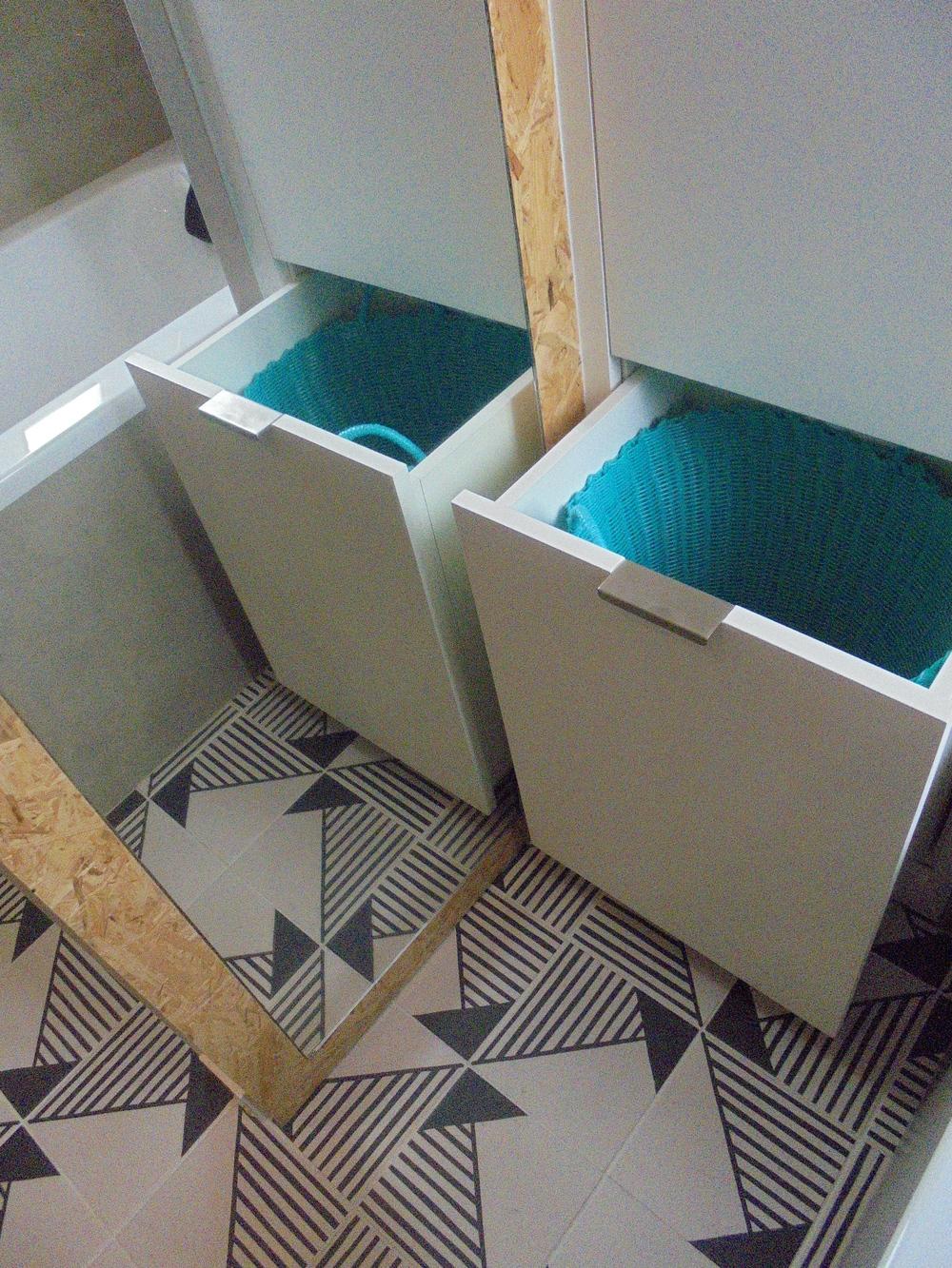 Rénovation d'un palier/salle de bain/wc (La Rochelle 17) 2017