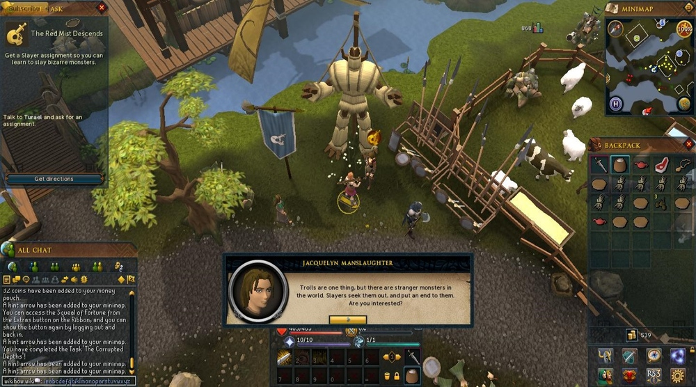 The newbie's guide for old school Runescape game
