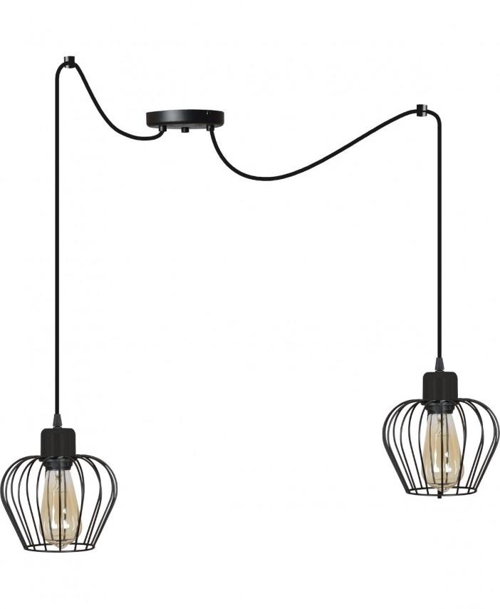 stylowa-lampa-wiszaca-w-oplocie-regulowana-nowoczesna