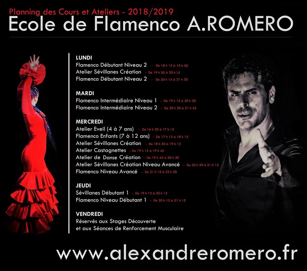 Planning_2018-2019_-_Ecole_de_Flamenco_-_A.ROMERO