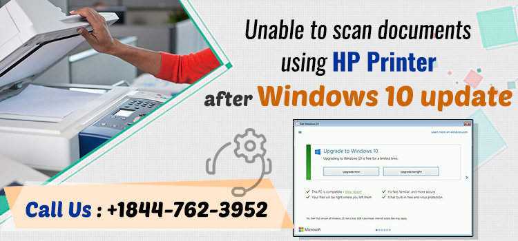 Unable To Scan Using HP Printer After Windows 10 Update