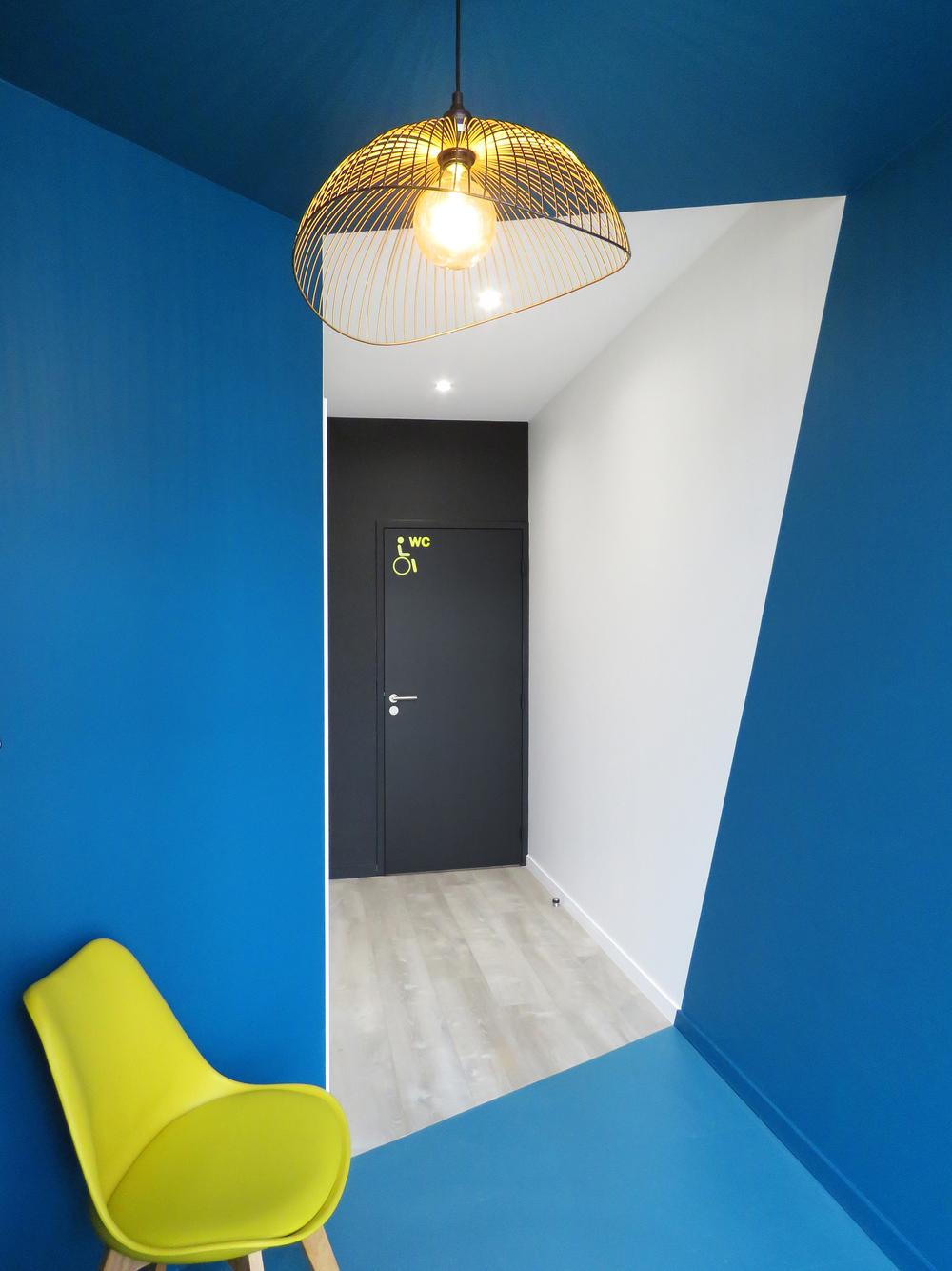 Aménagement d'un local de kinésithérapie (La Rochelle 17) 2018